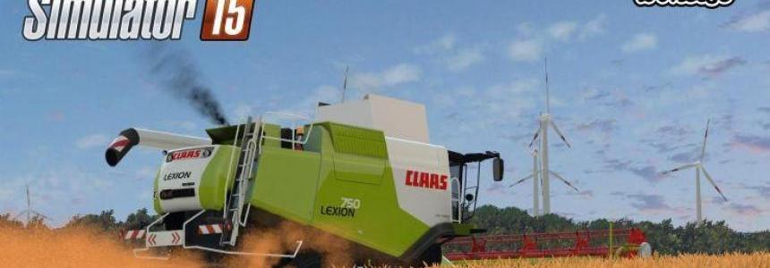 Claas Lexion 750, 750TT 1.4 Final V3