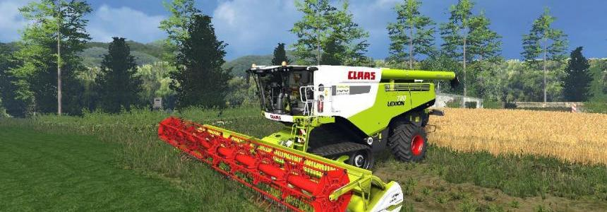 Claas Lexion 780 IC Pack