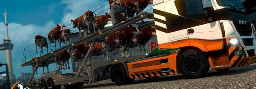 Cows Trailer Cars For Multiplayer/Single