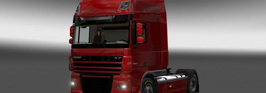 DAF XF 105 Interior Rework