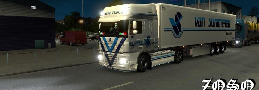 DAF XF 50k Van Summeren Expeditie Skin