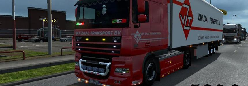 DAF XF 50k Van Zaal Transport Skin