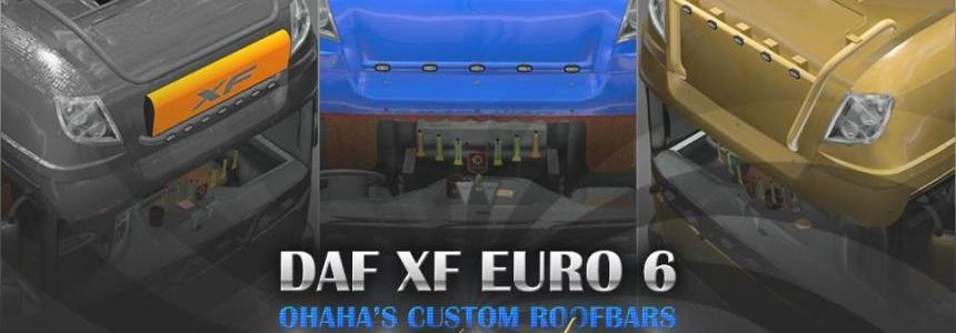 DAF XF E6 Ohaha's Custom Roofbars - Painted Version
