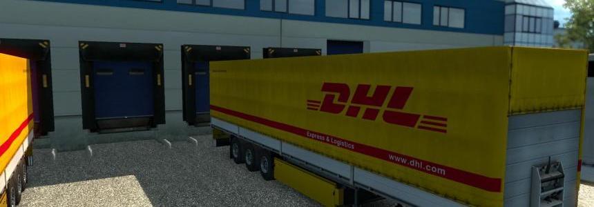 DHL Trailer + 47 Cargo 1.21.x
