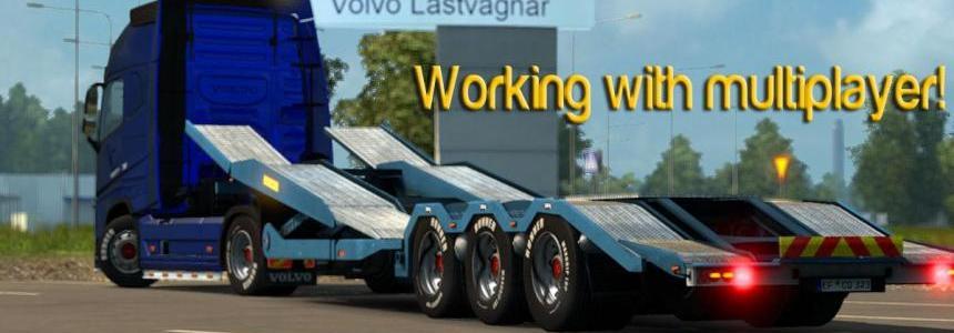 Empty Volvo Transporter
