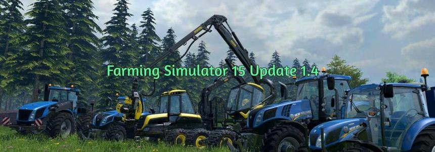 Farming Simulator 15 Update 1.4
