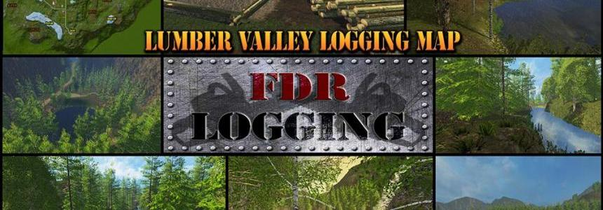 FDR Logging - Lumber Valley Logging Map