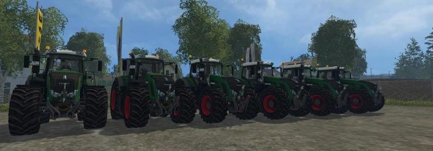 Fendt 900 Pack Green v3.1