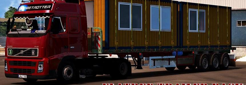 Flatbed Trailers Pack v1.0