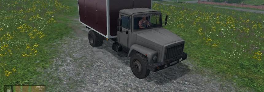 Food Truck GAZ 3307 v1.0