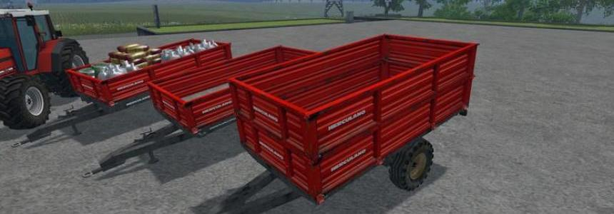 Herculano Trailers Pack v1.0