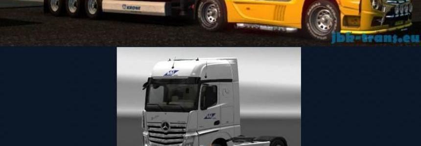 JBK Combo Pack Ohl Logistics v1.0
