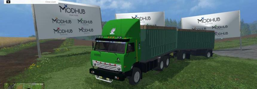 Kamaz 53212 MultiColor and GKB 8352 v1.0