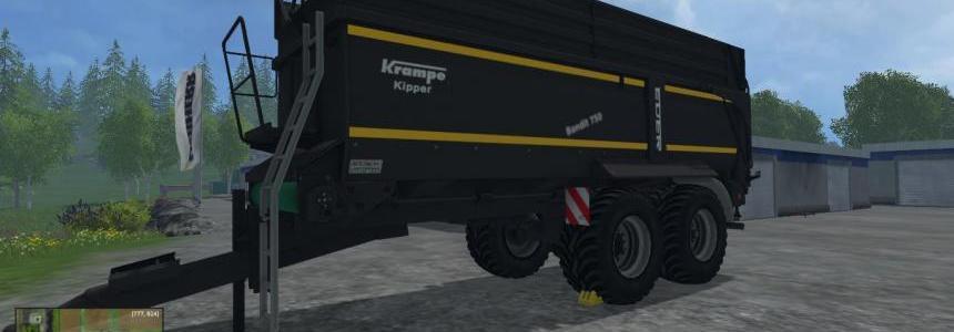 Krampe Bandit 750 Black Trailer v1.0