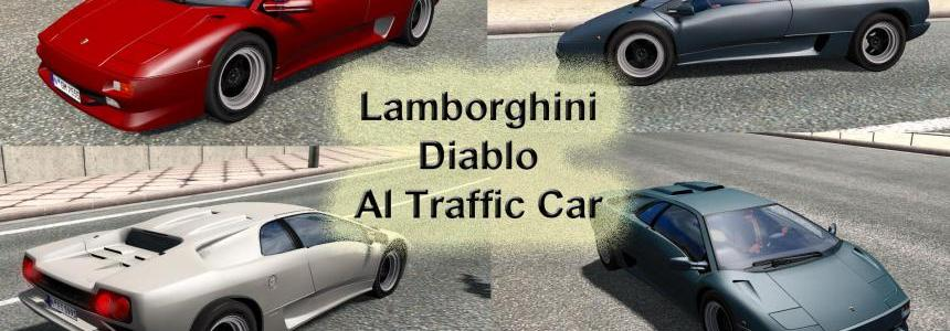 Lamborghini Diablo AI Traffic Car