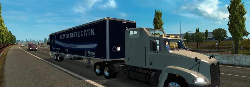 Mack Vision Truck for Traffic