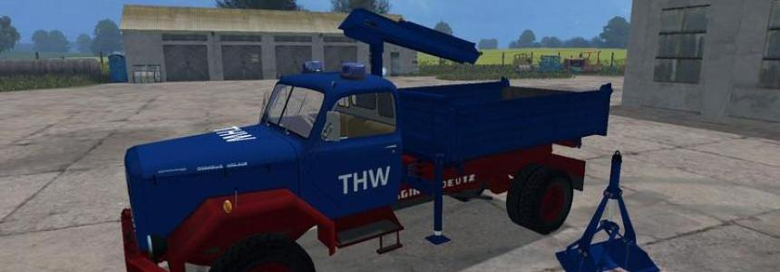Magirus Deutz THW v0.1 Beta