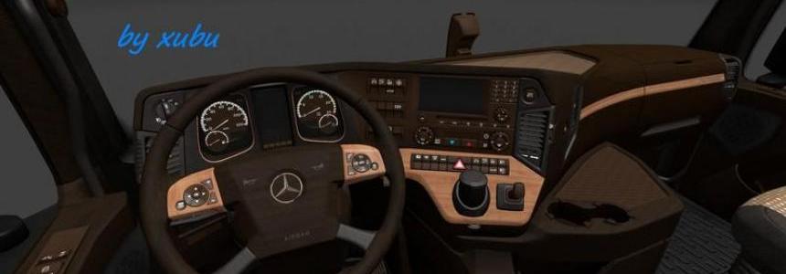 Mercedes 2014 Wood v1.0
