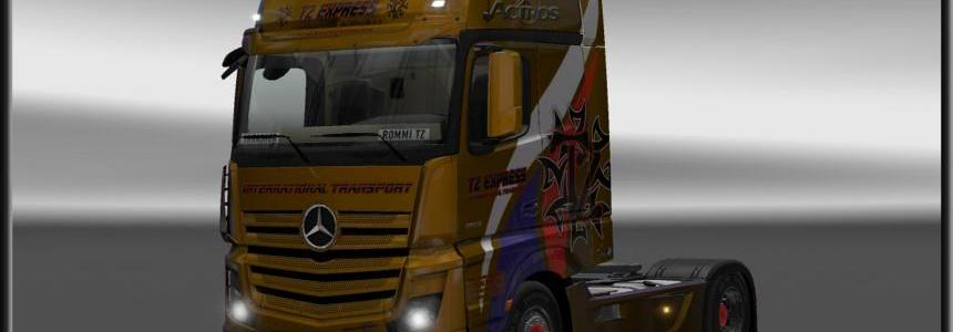 Mercedes Actros MP4 2014 TZ 1.21.x