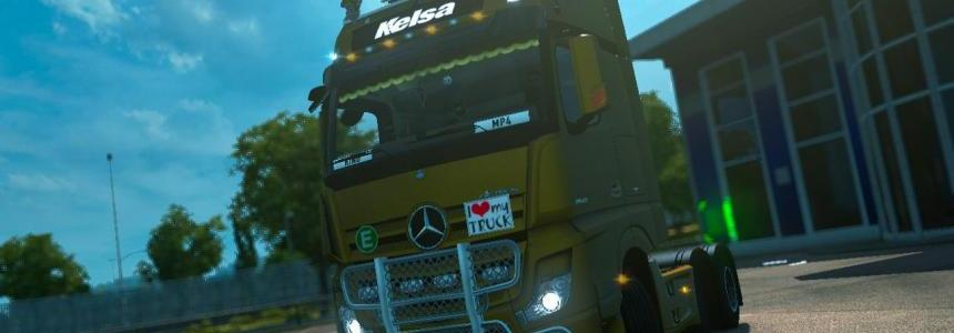 Mercedes Actros MP4 v1.7