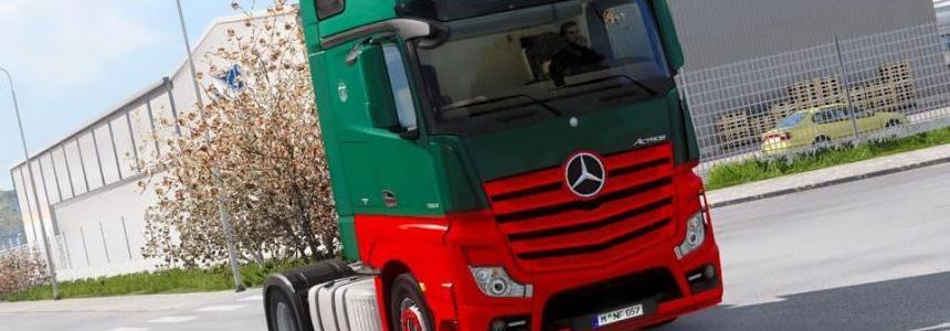 Mercedes Actros MPIV Oskar Voge Skin
