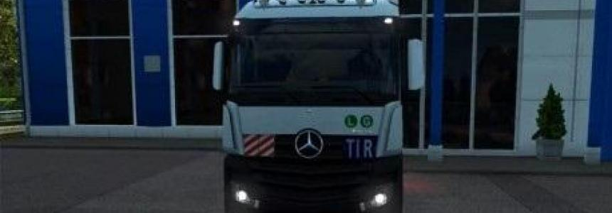 Mercedes Benz Actros Mega Space 4