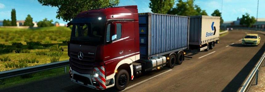 Mercedes Benz Actros MP4 RGD v1.2