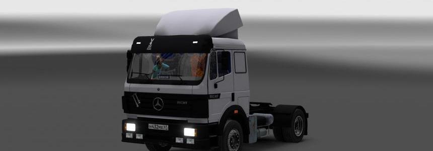 Mercedes Benz SK 1838 LS & Interior