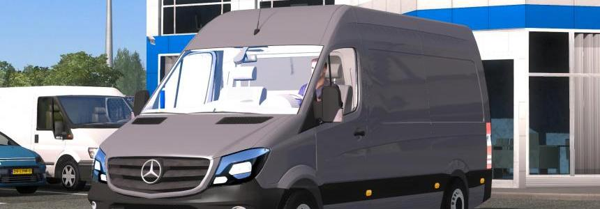 Mercedes-Benz Sprinter CDI311 2014