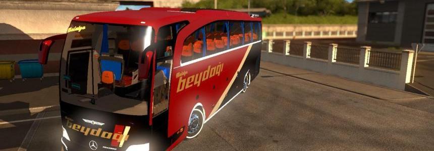 Mercedes Benz Travego 15-17 Malatya Beydagi Skin v1.0