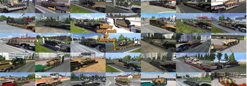 Military Cargo Pack by Jazzycat  v1.7