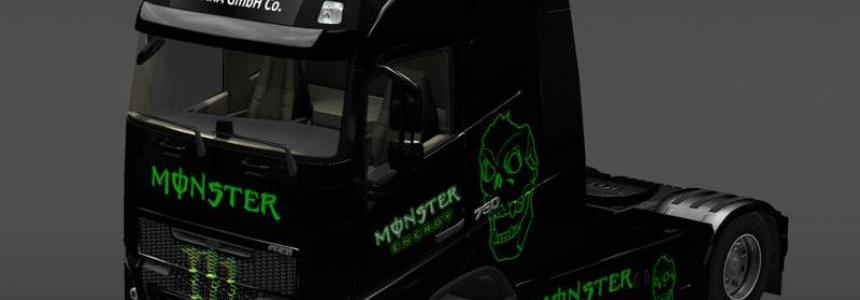 Monster Volvo FH16 2013 ohaha v1.0