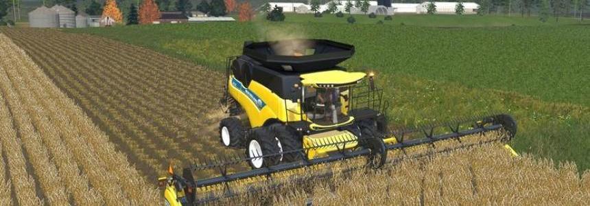 New Holland cr Combine Pack v1.0