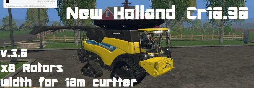 New Holland Cr10.90 Crawler v3.0 Pack