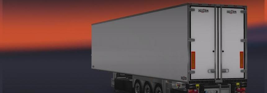 New Trailer Chereau V1.21 No Speed Limit Standalone