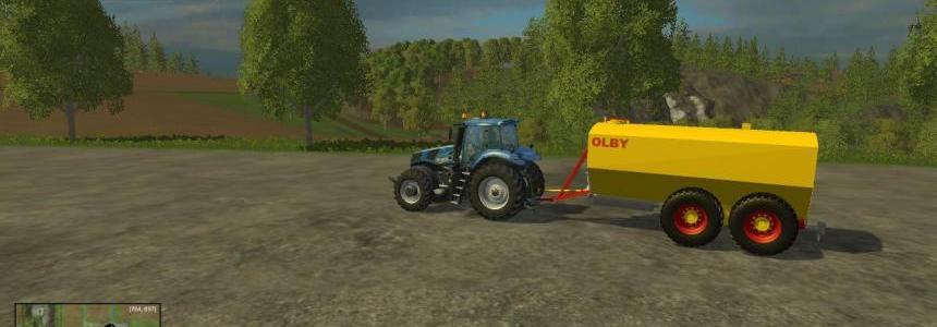 Olby slurry tank