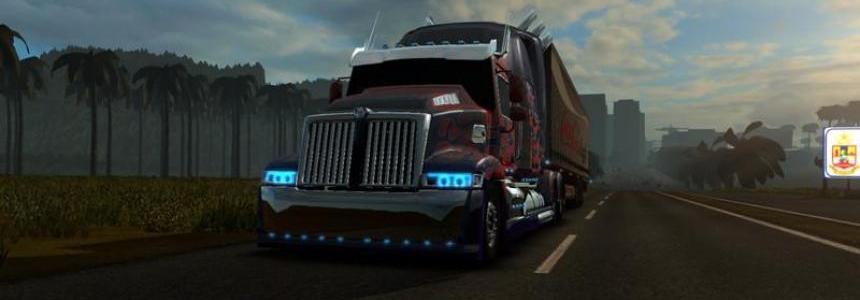 Optimus Prime Trasnsformers 4 v1.0