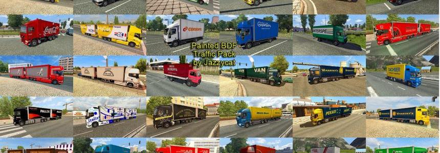 Painted BDF Traffic Pack by Jazzycat  v1.1