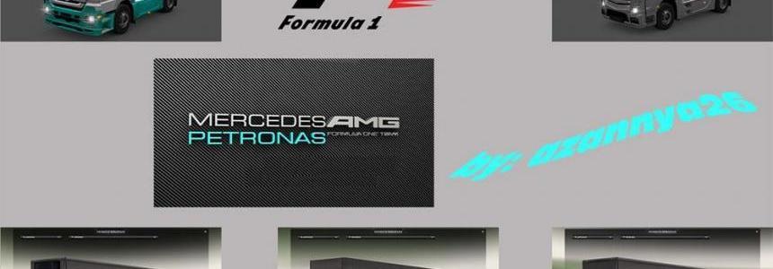 Petronas F1 Pack 1.21.x