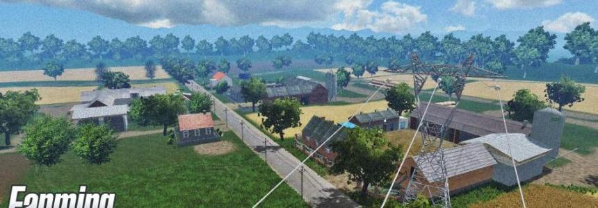 Polska village MAP v8