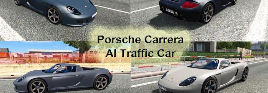 Porsche Carrera GT AI Traffic Car