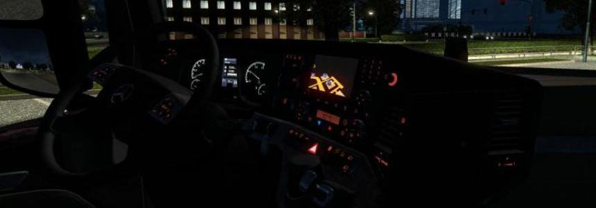 Realistic New Actros interior v1.5