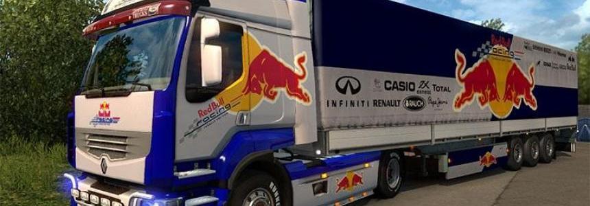Renault Premium Red Bull F1 Combo Pack v1