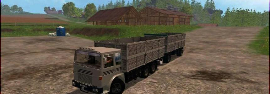 Roman Diesel + Trailer v1.0