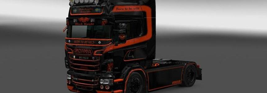 Scania Black Knight Skin