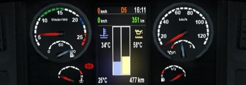 Scania dashboard 1.21.x