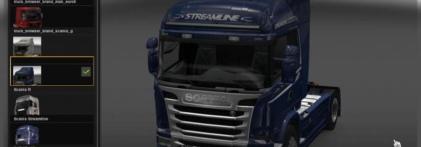 Scania R and G 1.21.x