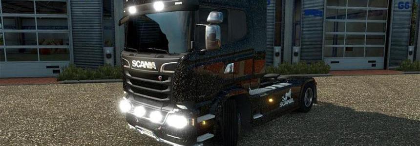 Scania R Streamline pinup Skin