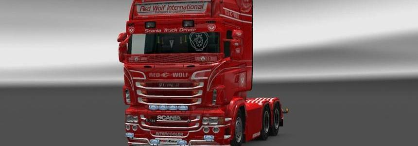 Scania Red Wolf Skin