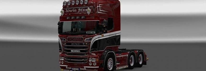 Scania RJL Advin Stam reworked Skin